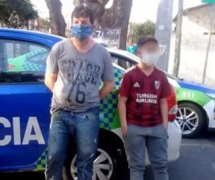 foto: Con su hijo de 11 años quiso robar una peluquería en Vicente López