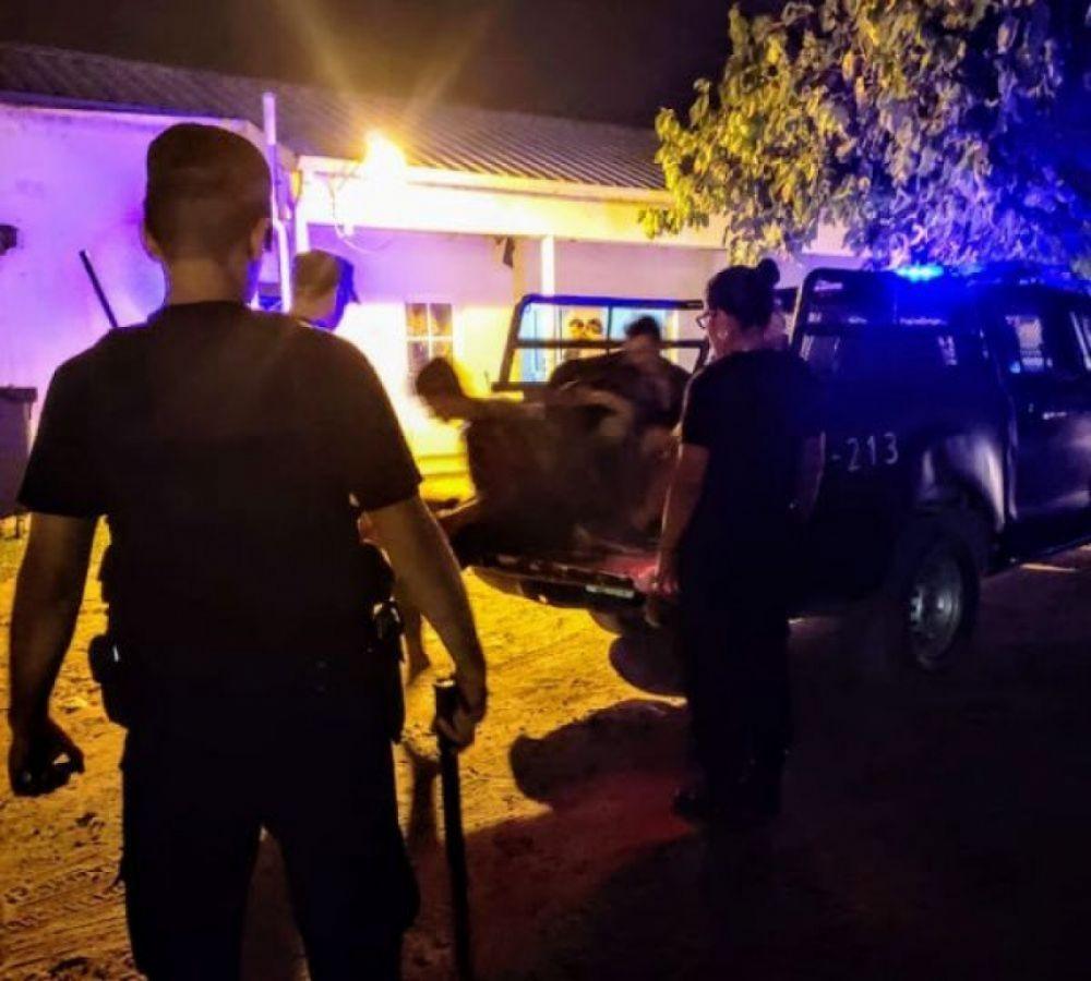 Policía fue baleado tras intervenir en una pelea entre dos personas