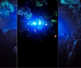 foto: Ordenan aislar a todos los que estuvieron en la fiesta clandestina