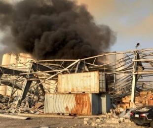 foto: Explosión en Beirut: hay al menos 100 muertos y 4000 heridos