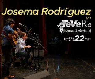 foto: Josema Rodríguez estrena banda en el noveno programa de TeVera