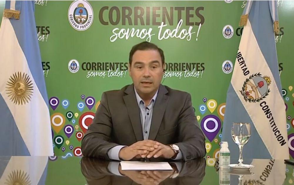 Valdés destacó la importancia de las obras anunciadas por Nación