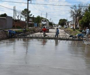 foto: Avanzan las obras de calle Lavalle para convertirla en aliviador vial