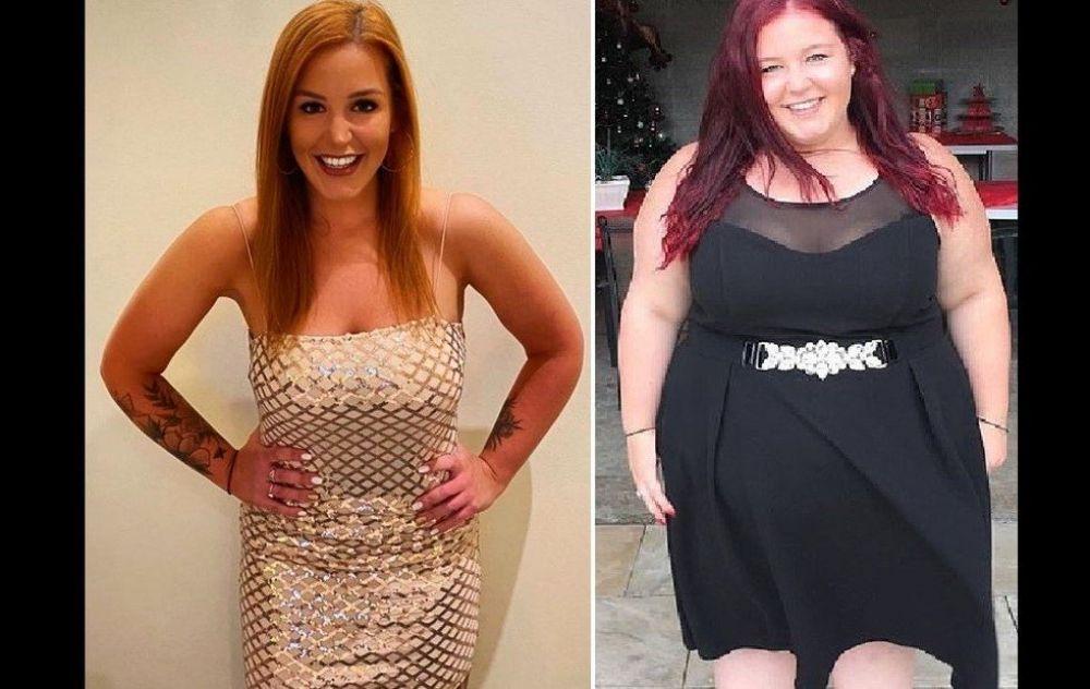 """Pesaba 145 kilos, pero dejó a su """"novio tóxico"""" y se transformó"""