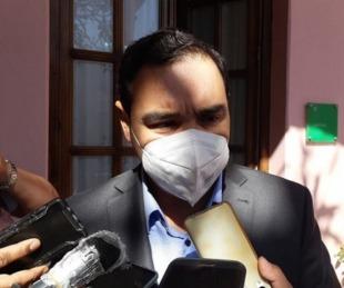 foto: Gustavo Valdés confirmó que le practicaron tres hisopados