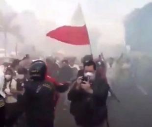 foto: Banderazo e incidentes suspendieron la vuelta al fútbol