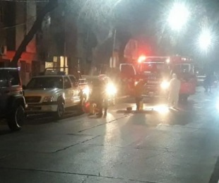 foto: Se incendió un hotel que alojaba a repatriados y murió un hombre