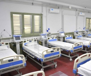 foto: Coronavirus: el Hospital de Campaña tiene 33 internados