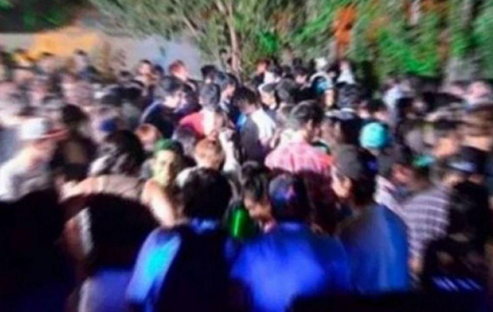 Fiesta clandestina: Varios habrían cruzado de Chaco en canoa