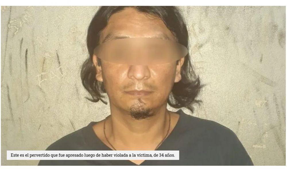 Degenerado se metió a una casa y violó a la propietaria