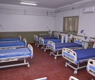 Son 34 los pacientes internados en el Hospital de Campaña