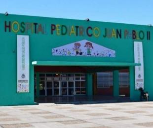 foto: Hospital Pediátrico: entre los contagiados hay niños y familiares