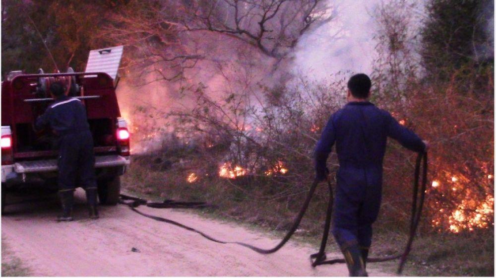 Preocupación por el número de incendios en Esquina