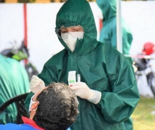 foto: Hisopados pagos: