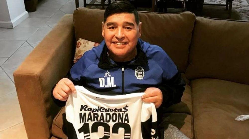 Coronavirus en la Argentina: Diego Maradona dio negativo en el test