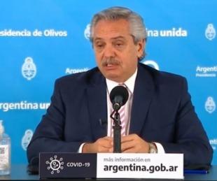 foto: Alberto Fernández anunció la fabricación de la vacuna de Oxford en la Argentina