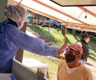 foto: Testeos en el acceso a la provincia: Las diferencias con Misiones