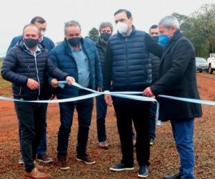 foto: Garruchos: Valdés inauguró obras y se comprometió a desarrollar la región