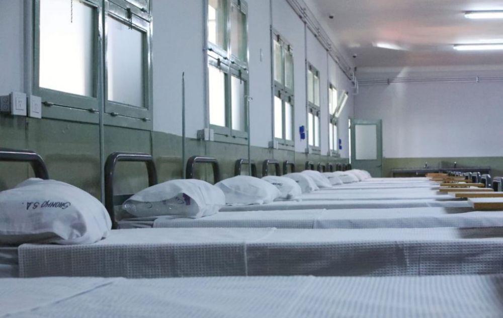 Murió una mujer internada en el Hospital de campaña