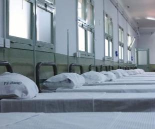 foto: Murió una mujer internada en el Hospital de campaña