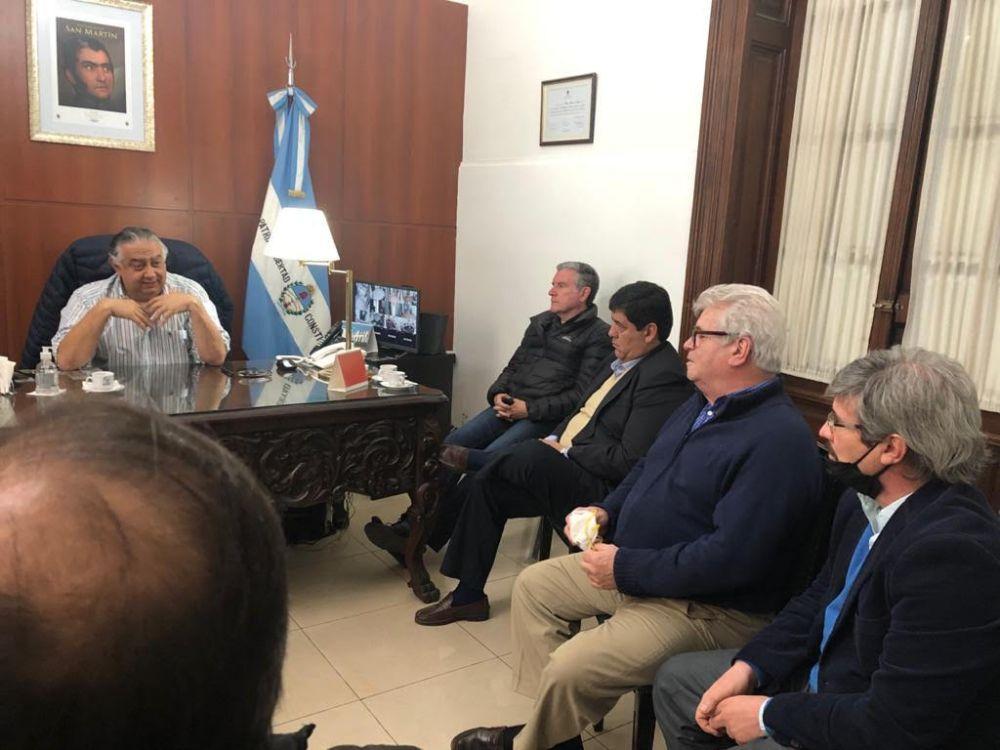 Cassani recibió al Consejo Consultivo de Partidos Políticos de Corrientes