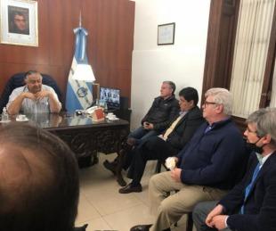 foto: Cassani recibió al Consejo Consultivo de Partidos Políticos de Corrientes