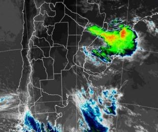foto: Se prevé la llegada de tormentas para el Noreste de Corrientes
