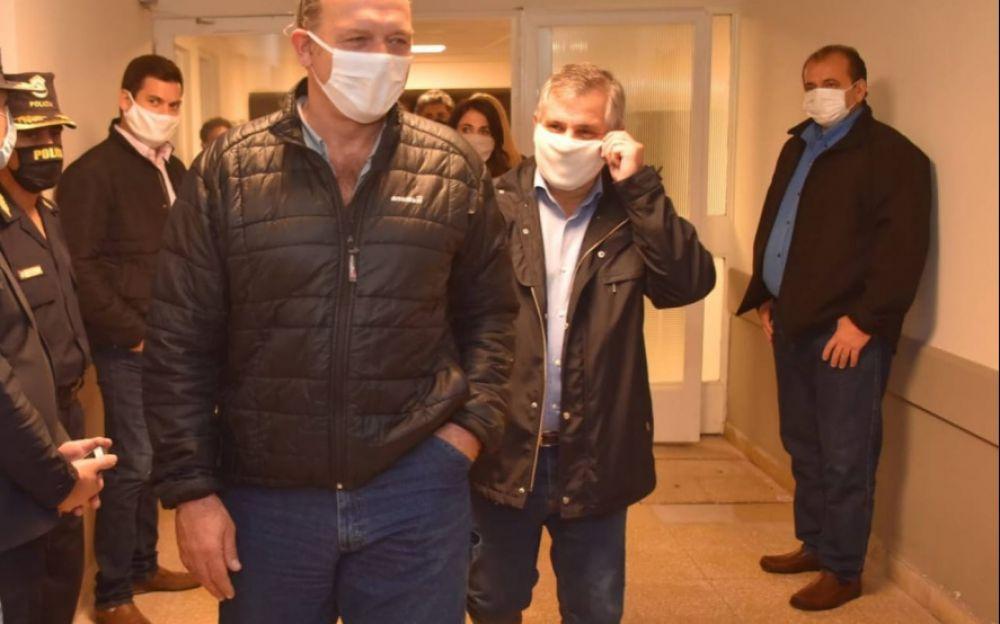 El ministro de Seguridad Sergio Berni tiene coronavirus