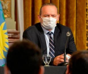 foto: El ministro de Seguridad bonaerense, Sergio Berni, tiene coronavirus