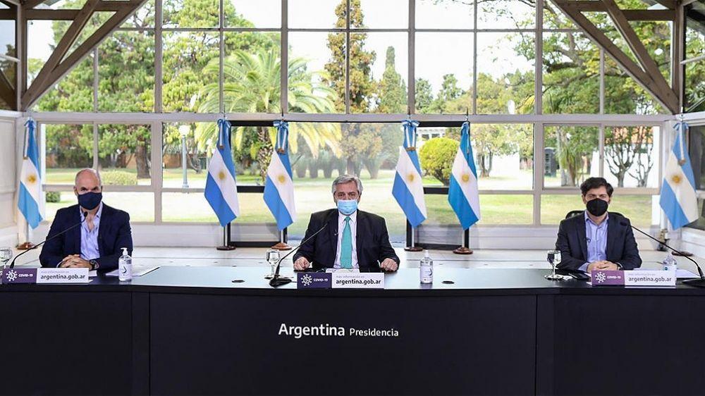 Alberto Fernández anunciará cómo continúa el aislamiento social