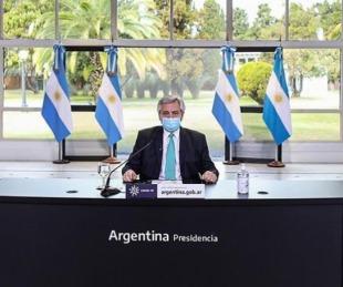 foto: Alberto Fernández anunciará cómo continúa el aislamiento social