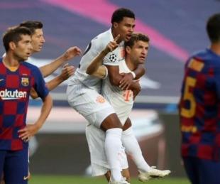 foto: Champions League: Bayern Munich aplastó 8 a 2 al Barcelona