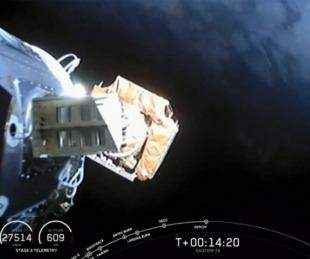 foto: Se lanzó con éxito el Saocom 1B desde una base estadounidense