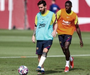 foto: Caso Messi: no fue a entrenar y se incorporaría recién mañana
