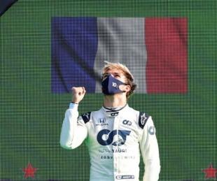 foto: Pierre Gasly fue el ganador en Monza con otro desastre de Ferrari