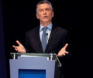 foto: Macri criticó al Gobierno por querer
