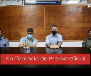 foto: Gobernador Virasoro tiene un caso positivo de coronavirus