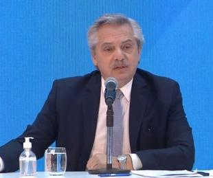 foto: Fernández criticó a Macri: