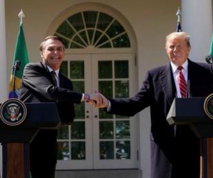 foto: Bolsonaro ratificó su alianza con Trump para luchar contra Maduro