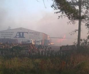 foto: Villa Olivari: Incendio quemó 450 hectáreas y se uso avión hidrante