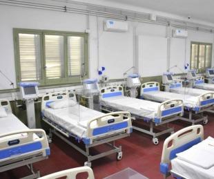 foto: Hay 63 pacientes internados en el Hospital de Campaña