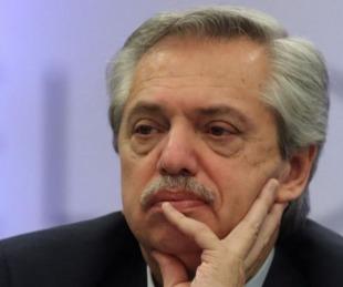 foto: La imagen negativa de Alberto Fernández es de 48,7%