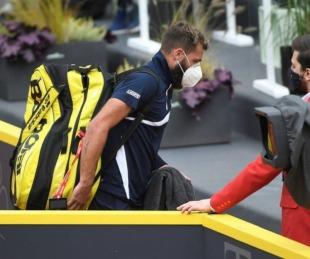 foto: Escándalo en el tenis: un jugador confesó haber jugado con coronavirus