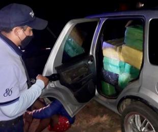 foto: Prefectura detuvo a un hombre e incautó más de 500 kilos de droga