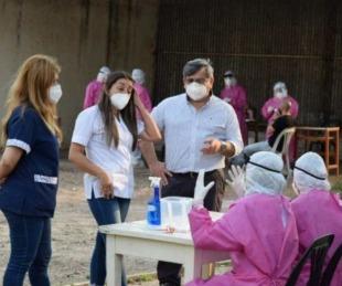 foto: Monte Caseros: enviaron 81 nuevos hisopados para ser estudiados