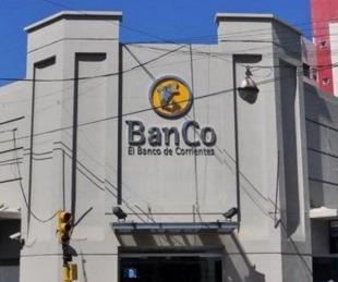 foto: Banco de Corrientes: un empleado habría dado positivo a coronavirus
