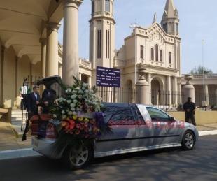 foto: Imágenes: Así despidieron los restos de Ramona Galarza