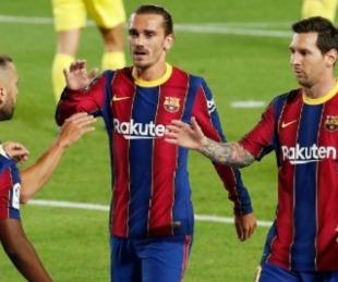 foto: Con gol de Messi, Barcelona aplastó 4-0 al Villarreal