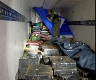 foto: Misiones: secuestraron casi 10.000 kilos de marihuana en un operativo
