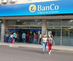 foto: Banco de Corrientes: informan modo de trabajo tras un caso positivo de COVID-19